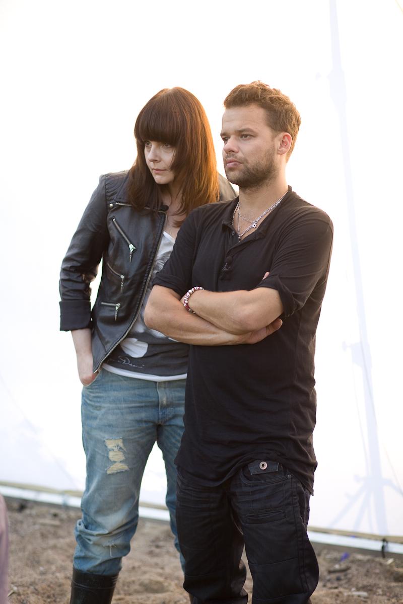 Karolina Korwin Piotrowska i Michał Piróg
